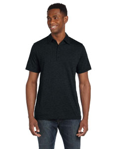 Men's  3.8 oz. Five-Button Jersey Polo