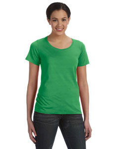 Ladies  Sheer Scoop Neck T-Shirt