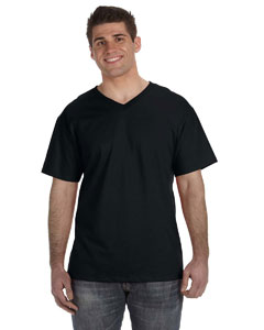 5 oz. 100% Heavy Cotton HD™ V-Neck T-Shirt