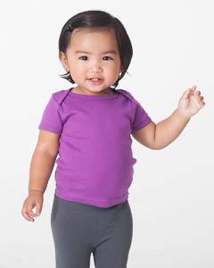 Infant Organic Baby Rib Short Sleeve Lap Tee
