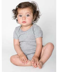 Baby Rib Short-Sleeve One-Piece