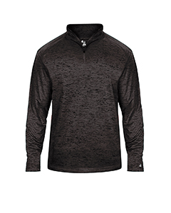 Adult Adult Tonal Blend Performance Quarter-Zip Long-Sleeve Pull