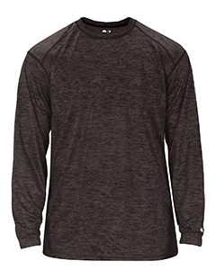 Adult Sublimated Tonal Blend Performance Long-Sleeve T-Shirt