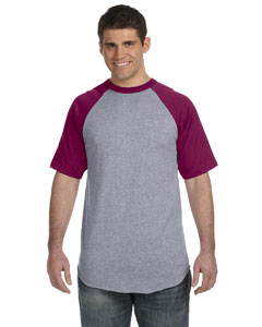 50/50 Short-Sleeve Raglan T-Shirt