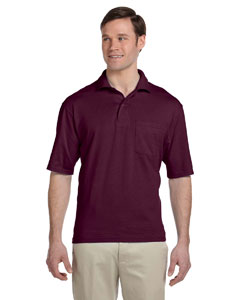 5.6 oz. 50/50 Jersey Pocket Polo with SpotShield™