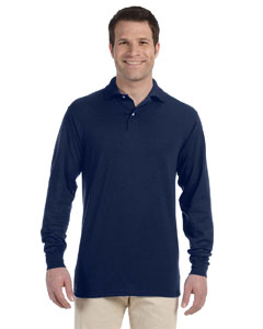 5.6 oz. 50/50 Long-Sleeve Jersey Polo with SpotShield™