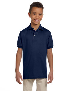 Youth  5.6 oz. 50/50 Jersey Polo with SpotShield™