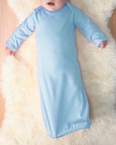 Infant Baby Rib Lap Shoulder Layette