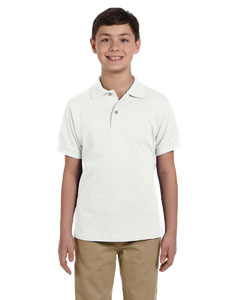 Youth  6.5 oz. Cotton Pique Polo