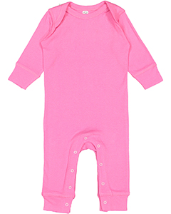 Infant Long-Sleeve Baby Rib Coverall