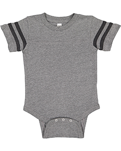 Infant Fine Jersey Footbal`Bodysuit