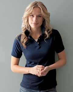 Ladies  Stain Repe`and Release Jersey Polo