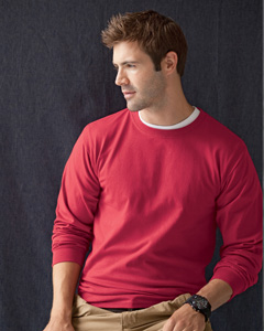 Men's  Long-Sleeve Heavyweight T-Shirt