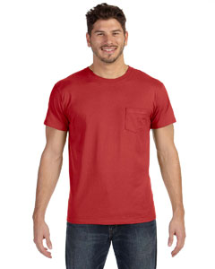 4.5 oz. 100% Ringspun Cotton nano-T® T-Shirt with Pocket