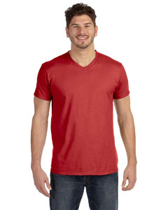 4.5 oz. 100% Ringspun Cotton nano-T® V-Neck T-Shirt