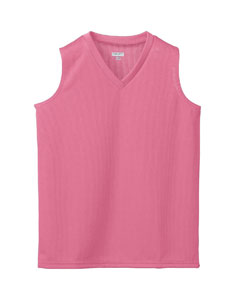 Ladies Wicking Mesh Sleeveless Jersey