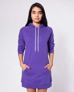 California Fleece Pullover Raglan Dress