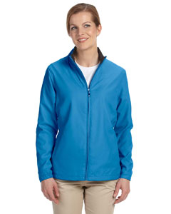 Ladies  FulmZip Lined Wind Jacket