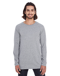 Adult Lightweight Long & Lean Raglan LS Tee