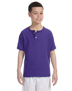Youth  50/50 Two-Button Basebal`Jersey