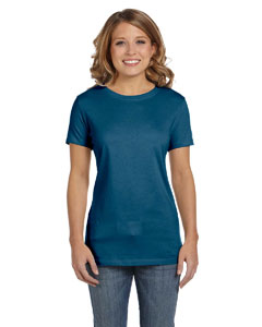 Ladies  4.2 oz. Crew Neck Short-Sleeve Jersey T-Shirt