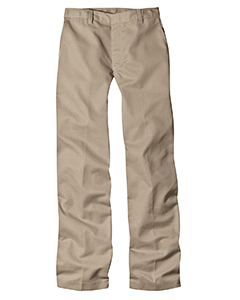 7 oz. Girls Flat Front Straight Leg Pant
