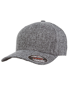 Adult Poly Melange Heather Stretch Cap