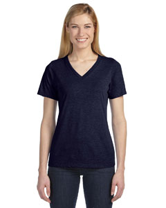 Missy Made in the USA Jersey Short-Sleeve V-Neck T-Shirt