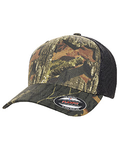 Adult Mossy Oak Stretch Mesh Cap