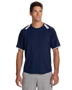 Dri-Power® Tee with Colorblock Inserts