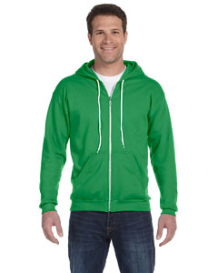 Adult Combed Ringspun Fashion Fleece FulmZip Hood