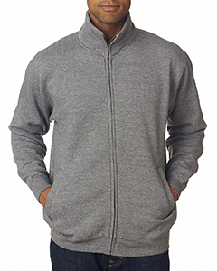 Adult Cross Weave® Full-Zip Warm-Up Sweatshirt