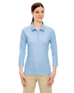 Ladies 3/4 Sleeve Stretch Jersey Polo