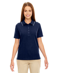 Ladies Edry™ Needle Out Interlock Polo