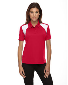 Ladies Eperformance™ Color-Block Textured Polo