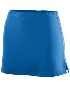 Girls' Polyester/Spandex Team Skort