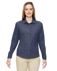 Ladies Excursion Utility Two-Tone Performance Shirt
