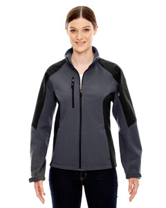 Compass Ladies Color-Block Soft Shel`Jacket