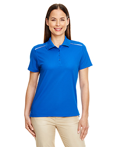 Ladies' Radiant Performance Pique Polo with Reflective Piping