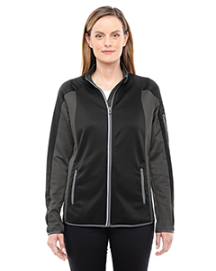 Ladies Motion Interactive ColorBlock Performance Fleece Jacket