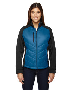 Epic Ladies Insulated Hybrid Bonded Fleece Jacket