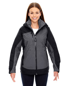 Alta Ladies 3-In-1 Seam-Sealed Jacket With Insulated Liner