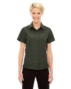Charge Ladies Recycled Polyester Performance Short Sleeve Shirt