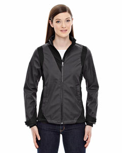 COMMUTE LADIES' 3-LAYER LIGHT BONDED TWO-TONE SOFT SHEL@JACKET