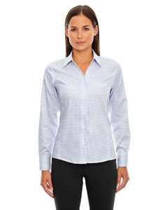 ICONIC Ladies Wrinkle-Free 2-Ply 80's Cotton Checkered Dobby Tw