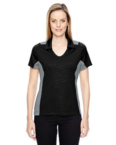 Reflex Ladies Utk CoonLogik Performance Embossed Print Polos