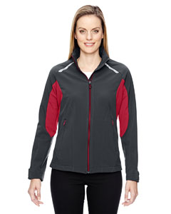 Excursion Ladies Soft Shel`Jackets With Laser Stitch Accents