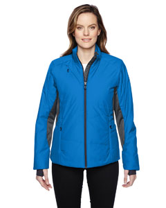 IMMERGE LADIES INSULATED HYBRID JACKETS WITH HEAT REFLECT TECHN