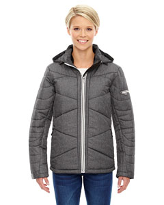 AVANT LADIES TECH M�LANGE INSULATED JACKETS WITH HEAT REFLECT T