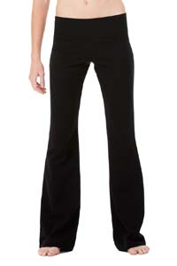 Ladies  8 oz. Cotton/Spandex Fitness Pant